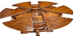Walnut Jupe Dining Table Large , Sarreid Ltd Portal ! | Your Source For The  Exceptional