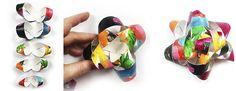 alisaburke: mixed media paper bows