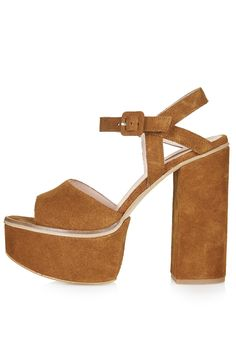 Photo 1 of LILITH Suede Chunky Sandals