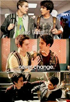 Some things never change... Stiles and Scott