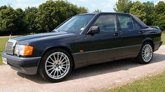 Mercedes 190e 2.6 Petrol 5-speed Manual Metallic Black   - http://classiccarsunder1000.com/archives/43538