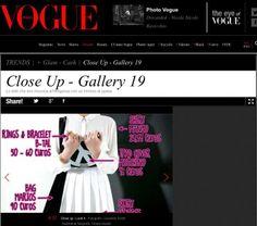 B-Tal is now at VOGUE ITALIA!!! Vogue, Italia, En Vogue