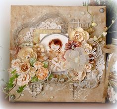 Happy smile♪: 2 Crafty Chipboard March Post