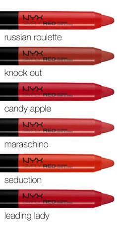 Red velvet lips...