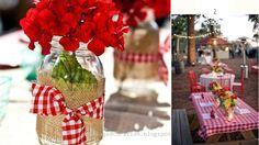 De nouvelles idées pour un mariage Rouge et blanc de l'un thème ? Ces de jeux de couleurs, raffinees et la promesse d'un shunt de l'chics...