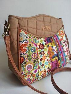 Compre Bolsa Spring - Caqui no Elo7 por R  110,00   Encontre mais produtos  de Bolsa e Bolsas e Carteiras parcelando em até 12 vezes   Bolsa feita de  tecido ... 35fbf84ebe