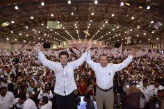 #Xalapa En un cerrada votación interna del PRI veracruzano por un margen muy estrecho, Héctor Yunes Landa vence a su contrincante de partido Héctor Herrera Bustamante.