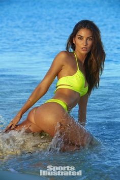 Lily Aldridge Swimsuit Photos, Sports Illustrated Swimsuit 2016