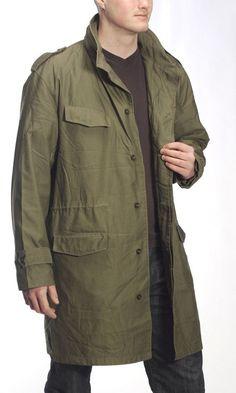 Belgian Army Parka M89 Olive Coat