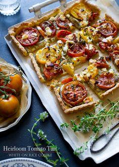 Tomato Tart with Pesto
