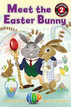 [(Meet the Easter Bunny )] [Author: Cinco Paul] [Feb-2011] http://www.easterdepot.com/meet-the-easter-bunny-author-cinco-paul-feb-2011/ #easter  Easter Island is home to the Easter Bunny's magical workshop–where do you think Santa got all his good ideas? Chocolate bunny carving, jellybean polishing, and adorable chicks and bunnies are just a few of the fantastic sights to see on this lively tour of Easter in the making.