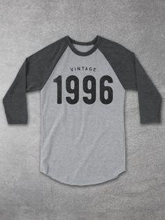 Vintage 1996 Baseball Tee | 21st Birthday Gift Ideas – Hello Floyd