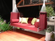 The Bar Harbor - eclectic - outdoor swingsets - - by Penobscot Bay Porch Swings