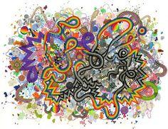 Artist Jen Stark Creates Hypnotic Stop Motion Videos #psychedelicart trendhunter.com
