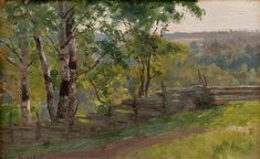 Eero Järnefelt -- A Birch Grove