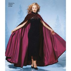 Simplicity Pattern 5794 Misses& Capes Classic Halloween Costumes, Hooded Cloak, Capes For Women, Costume Patterns, Simplicity Sewing Patterns, Cosplay Costumes, Fabric Design, Cool Outfits, Summer Dresses