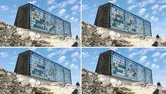 NAS architecture pavilion activates senses along shoreline of france - designboom | architecture , Montpellier