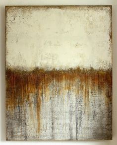 as time goes by, Christian Heizel.Art you need to know - the world's best art on ArtStackTearing The PagesMost probably a Christian Hedzel painting Modern Art, Contemporary Art, Encaustic Art, Abstract Canvas, Painting Canvas, Abstract Paintings, Canvas Art, Abstract Expressionism, Oeuvre D'art