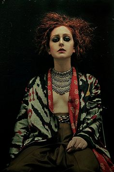 That jacket / High Fashion / Ethnic & Oriental / Carpet & Kilim & Tiles & Prints & Embroidery Inspiration /