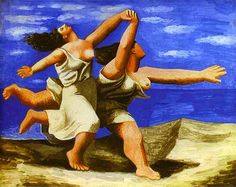 Pablo Picasso - Women Running on the Beach
