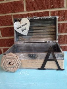 Honeymoon Fund Treasure Box on Etsy, $45.00