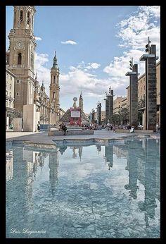 Plaza del Pilar. Zaragoza fiestas del Pilar 2014