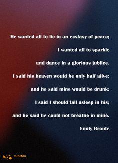 Emily Bronte Love Quote