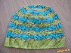 Tento návod není můj, háčkovala jsem podle návodu Věry T. (Věra AM) ID 402735, ale nelíbil se mi šev... Crochet For Boys, Crochet Baby, Crochet Beanie, Knitted Hats, Knitting, Crocheting, Babies, Crochet, Babys