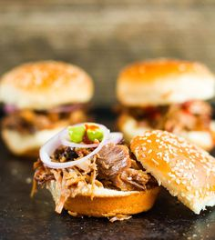 Best Slow Cooker Pulled Pork recipes Looking for a simple slow cooker pulled pork recipe? You've come to the right place. This is one of the best pulled pork recipes as the end result tastes great with either regular buns, fun sliders, as sandwich on bread or served up with rice. The taste is different from barbeque pulled pork and I like this recipe as it has less sugar without the bbq sauce. There are also more flavors playing in. Slight tastes of cinnamon, hoisin sauce and ginger go…