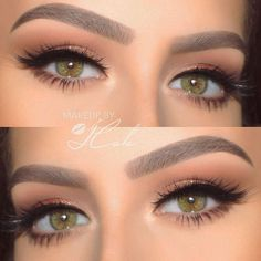 Best Makeup Ideas For Your Charming And Unique Hazel Eyes ★ See more: https://makeupjournal.com/hazel-eyes-makeup/