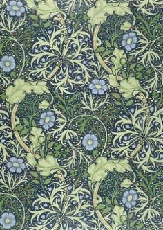 Seaweed wallpaper, by William Morris by deirdre