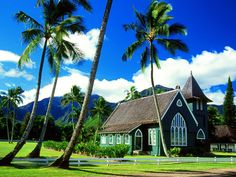 hawaii churches | 10 Most Beautiful Hawaii Wallpapers — www.piculous.com- Amazing ...Hanalei Church