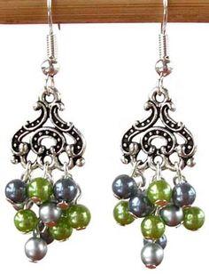 Droplet Earrings (project) - Beadsisters