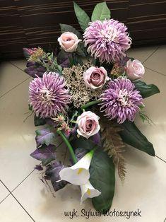 Kompozycja nagrobna 2018 wyk. Sylwia Wołoszynek Funeral, Decoupage, Floral Wreath, Wreaths, Flowers, Diy, Decor, All Saints Day, Do It Yourself