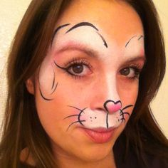 Bunny Face Paint (Sorry, no link, just this pic)
