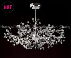 chandelier, transparent glass ball,  US$ 186.99 - US$ 226.99/piece