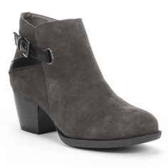 SONOMA life + style® Suede Ankle Booties - Women