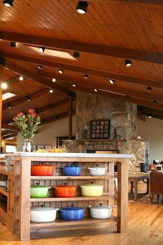 Ree Drummond's kitchen - Serious kitchen envy, y'all