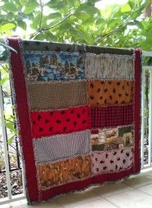 Rag Quilt Patterns With Charm! http://quilting.myfavoritecraft.org/rag-quilt-patterns-with-charm/