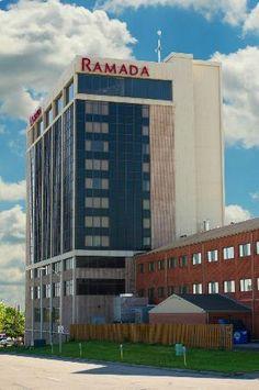 Ramada Inn - Topeka Downtown Hotel and Convention Center - Topeka, Kansas - July 1, 2013