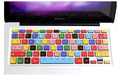 Want to pimp that MacBook keyboard of yours? Have a look at these LEGO decals that will totally make your keyboard as colorful as the creativity you sport.