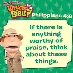 Philippians 4:8 short, free devotional at whatsinthebible.com