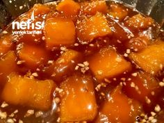 Kabak Tatlısı (Abartısız Muhteşem Lezzette) – Nefis Yemek Tarifleri Chili, Soup, Recipes, Food Recipes, Chile, Chilis, Soups, Rezepte, Recipe