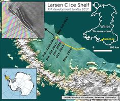 The Larsen C Ice Shelf Crack Just Sprouted a New Branch | Climate Central