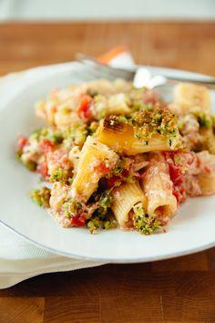 Recipe: Chicken & Tomato No-Boil Pasta Bake