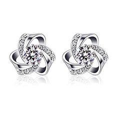 Ohrringe Set Creolen Ohrschmuck Silber Farbe Glänzend Ohrhänger Ohrstecker Groß