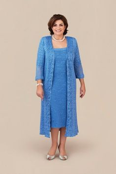 » GRAZIA DRESS & COAT- Mother of the Bride Dresses , Plus Size Dresses & More Check out our amazing collection of plus size dresses at http://wholesaleplussize.clothing/