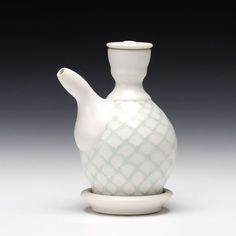 Ryan J. Greenheck - Pattern Ewer Set - porcelain with multiple glazes