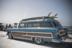 Very Kool `55 Chevy Woody 2 Door Wagon