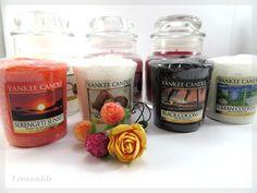 Lorwendile: Bougies - Découverte de certaines Yankee Candle !